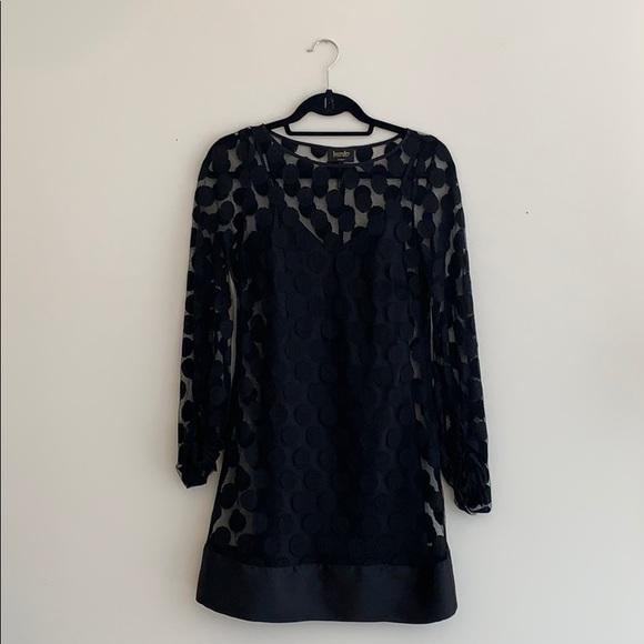Laundry By Shelli Segal Dresses & Skirts - Laundry by Shelli Segal Polka Dot Lace Shift Dress